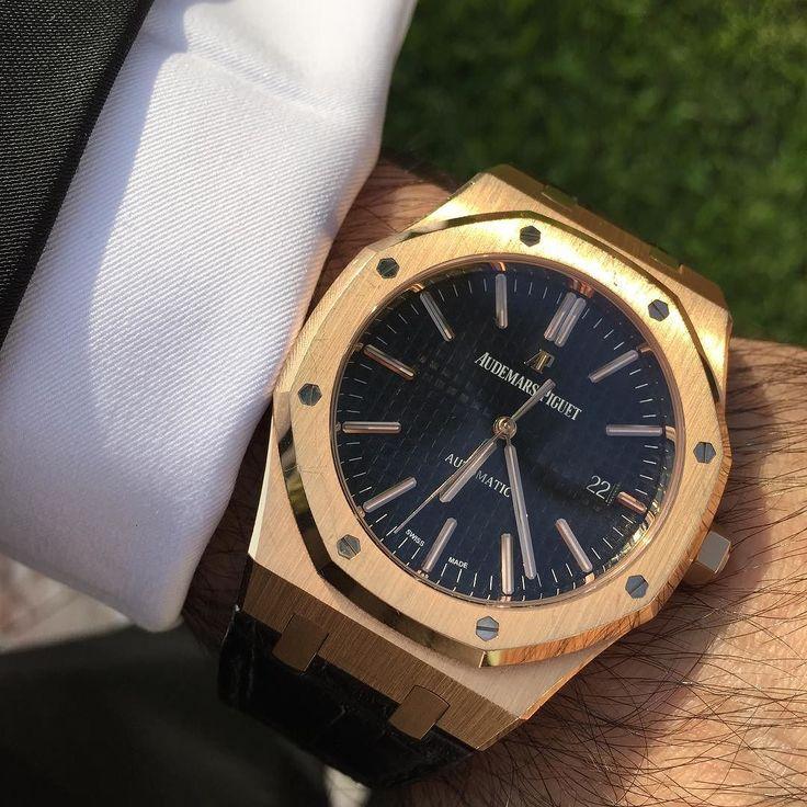 Audemars Piguet 41mm Rose Gold % Authentic.    Buy - Sell - Trade.   (305) 377-3335 info@diamondclubmiami.com #seybold #luxury #watches  #rolex #ap #audemars #hublot #patekphilippe #cartier #diamondclub #watch #diamonds #richardmille #diamondclubmiami #luxurywatch #relojes