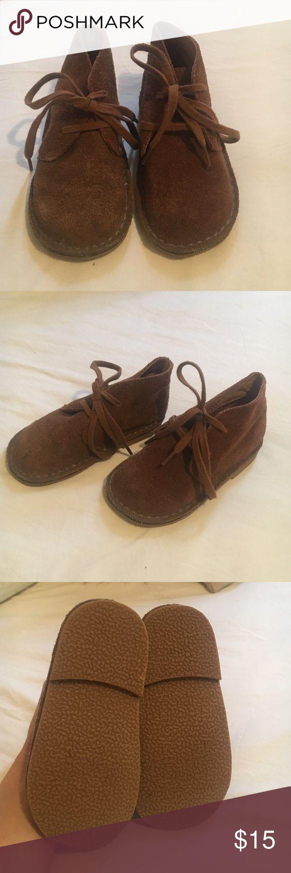 Ralph Lauren Boys Suede Shoes BRAND NEW! Brown suede leather shoes! Ralph Lauren Shoes Dress Shoes