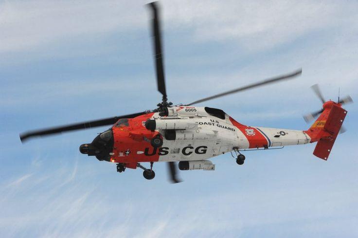 Photos: Coast Guard helicopter visits Palmer school | Alaska Dispatch News