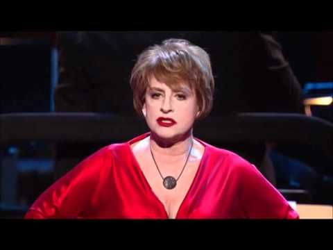 Patti LuPone - Ladies Who Lunch  Another chance to disapprove, Another brilliant zinger, Another reason not to move, Another vodka stinger.