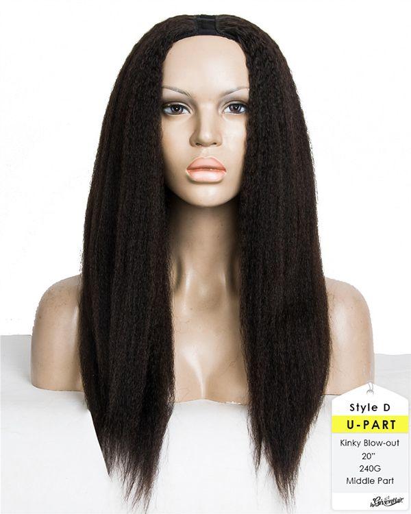 HerGivenHair Kinky Blow Out Textured U part Wig [KSUW01] - $259.00