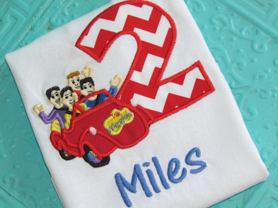 Wiggles inspired Birthday shirt by stacielutes on Etsy, $26.00
