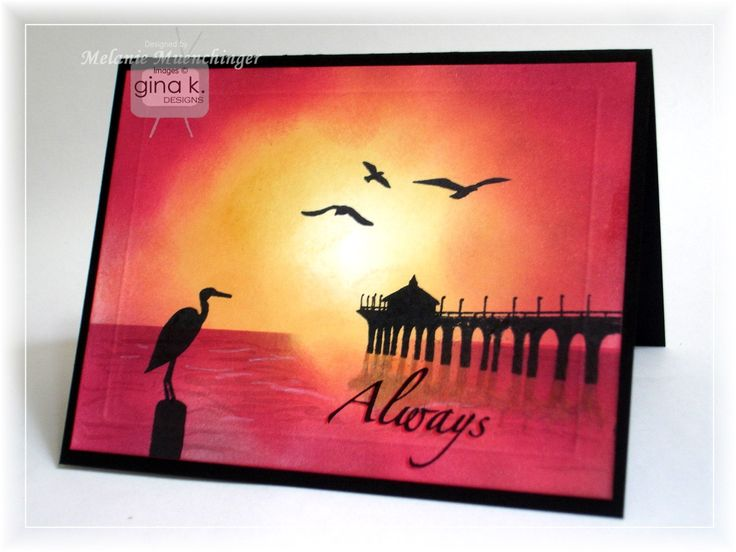 218 best Cards with scenes images on Pinterest Beach cards - küchen regale holz