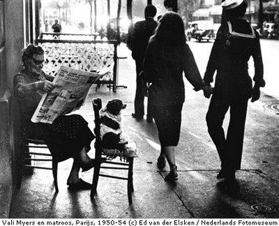 Elsken Vali-Myers-en-matroos-Parijs-Frankrijk-1950-19541