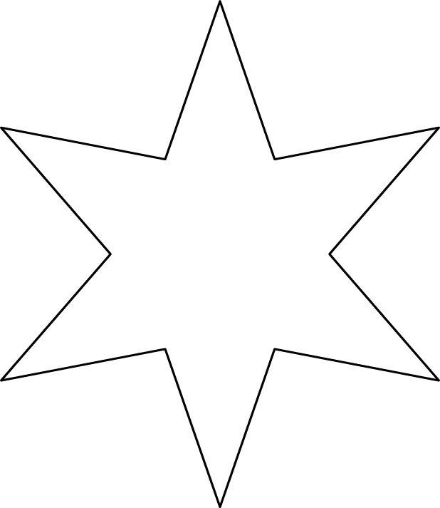 Une étoile à 6 branches