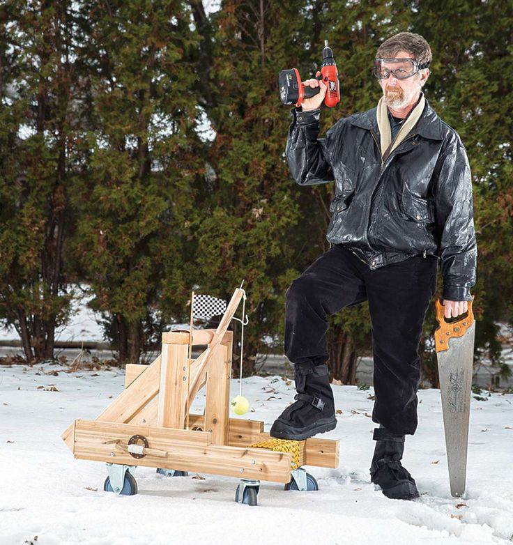 How To Build A Roman Catapult In Your Backyard | Popular Science