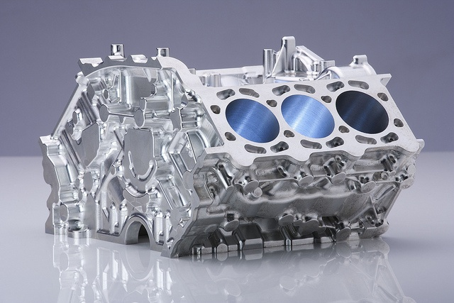 Audi V6 cyclinder milled in Germany using WorkNC CADCAM