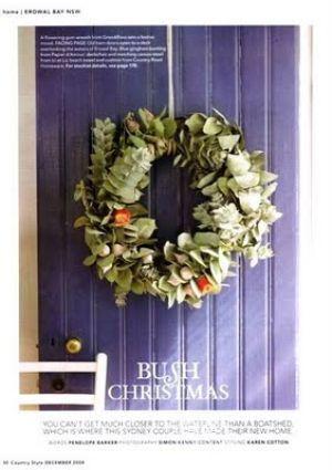 An Australian Christmas - mylusciouslife.com - Christmas-wreaths-countrystyle1.jpg