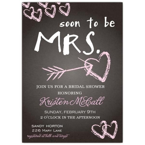 Free Bridal Shower Invitations Templates #1