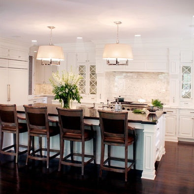 : Cabinets, Ideas, Kitchens Design, Traditional Kitchens, Interiors Design, Kitchens Islands, Classic White, Kitchens Photos, White Kitchens
