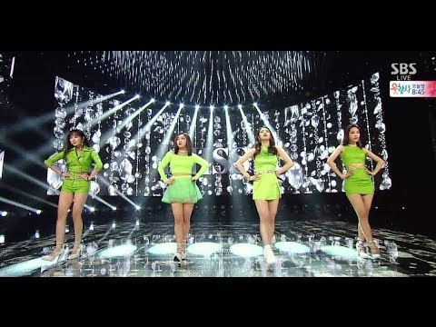 "miss A ""다른 남자 말고 너(Only You)"" Stage @ SBS Inkigayo 2015.04.19"