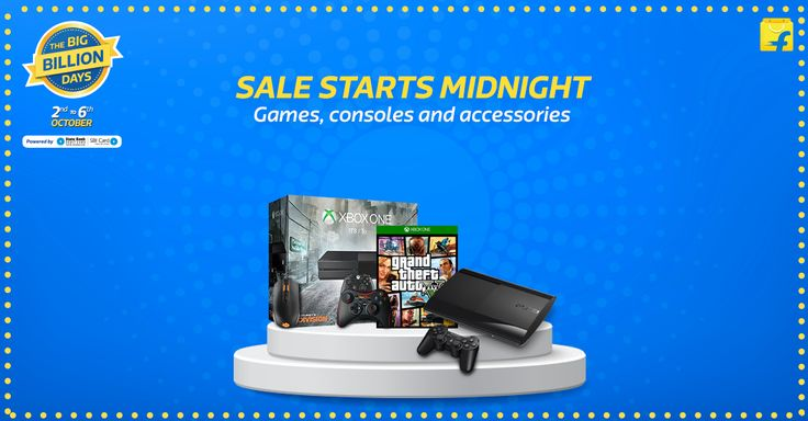 Sale Starts Midnight - Games, console and accessories.