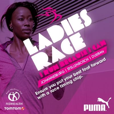 Ensure you put your best foot forward with a race timing chip. #TSrunpink #TSrun
