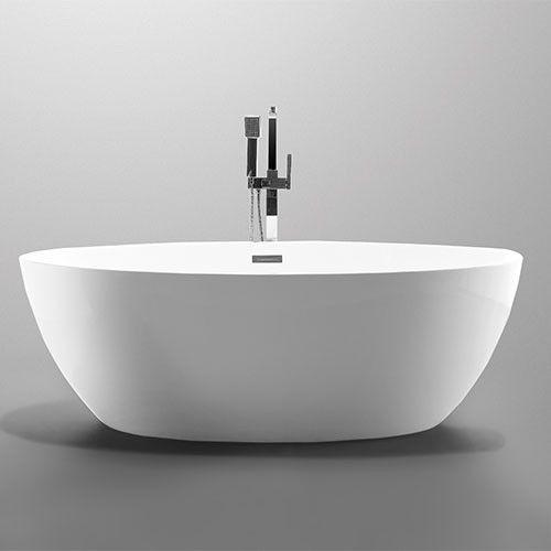 25 beste idee n over vrijstaande douche op pinterest kleine douches en douche - Badkamer in lengte ...