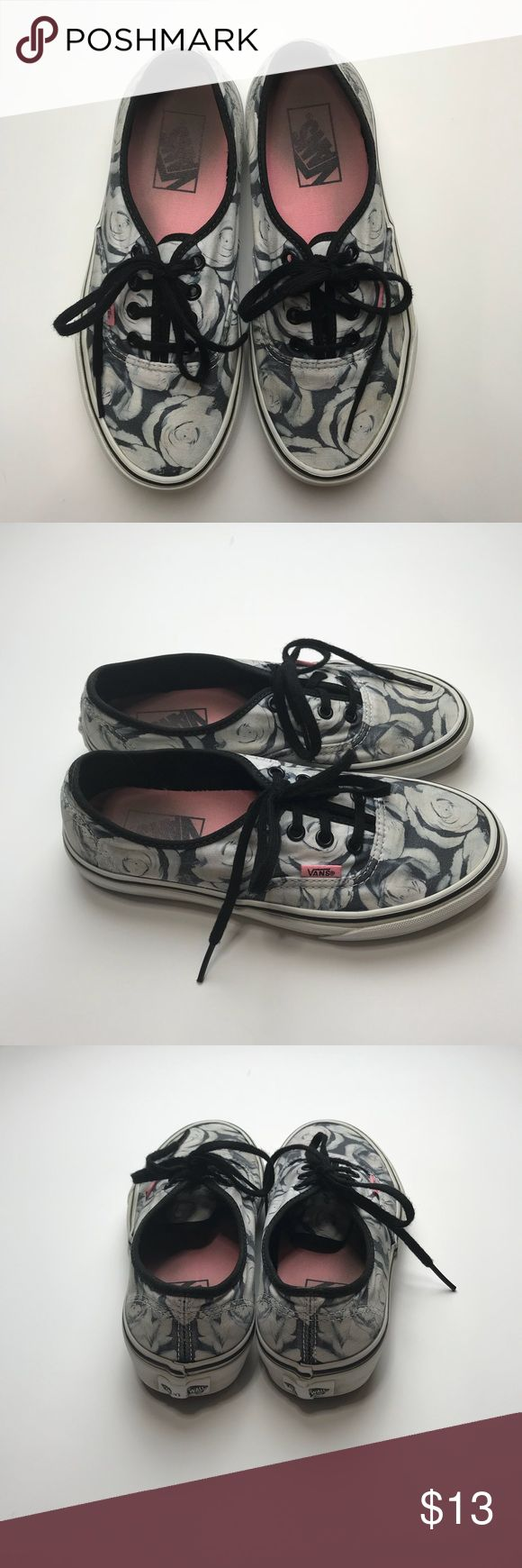 Floral Vans Floral Vans Vans Shoes Sneakers