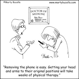 Medical Cartoons, Doctor Cartoons and Hospital Cartoons by Marty Bucella.  This is so right on!