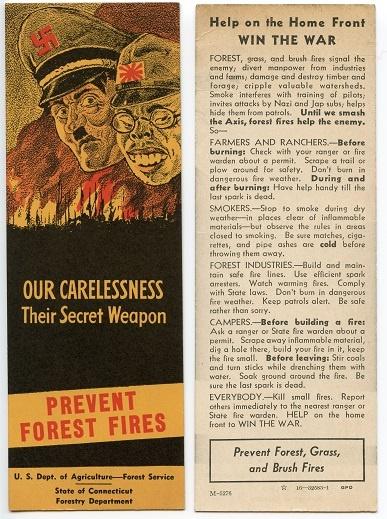 WWII Propaganda bookmark 1943