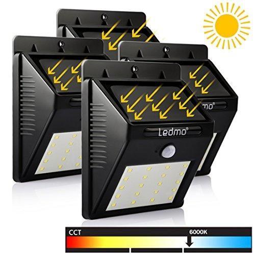 Oferta: 25.98€ Dto: -59%. Comprar Ofertas de LEDMO Luz de Solar, Luces Solares LED de Pared, Blanco 6000K PIR Sensor de movimiento y sensor ligero 20 LED Super brillante  barato. ¡Mira las ofertas!
