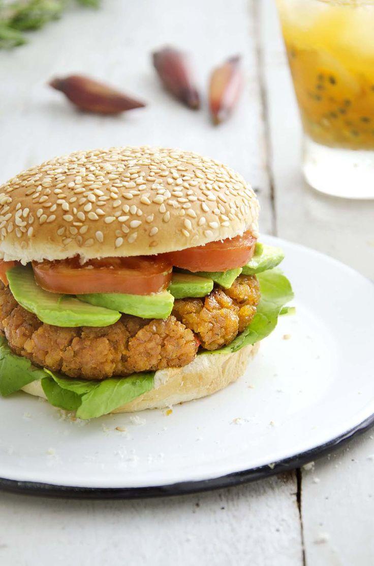 Hambúrguer de pinhão – Tempero Alternativo