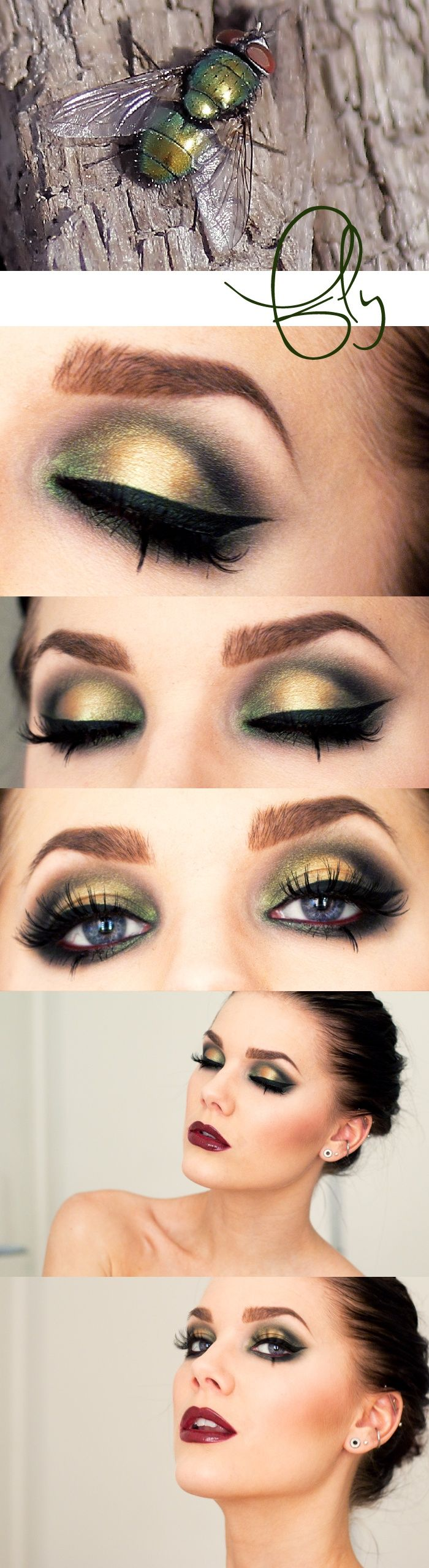 I love green eyeshadow & what it does to bring out my eyes! I should use it more than I do...