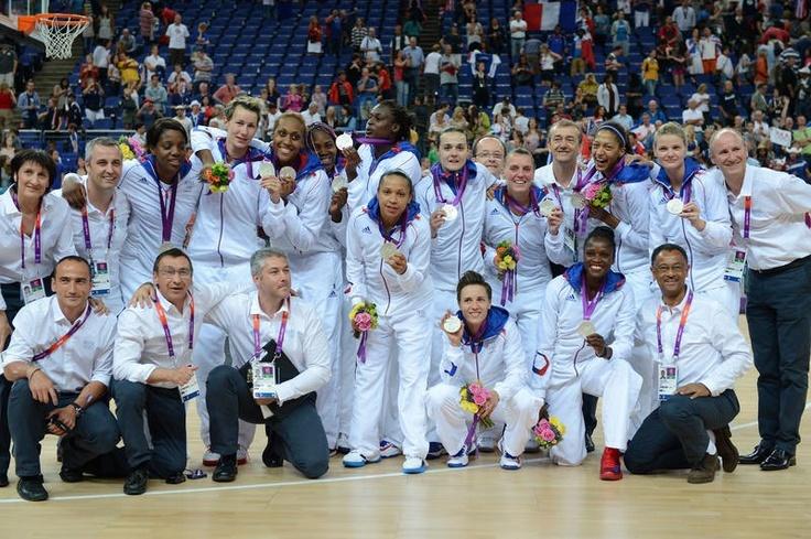 Finale Basket-Ball France- USA :La France obtient la médaille d'argent!