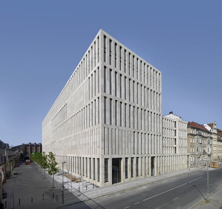 Jacob and Wilhelm Grimm Centre / Max Dudler