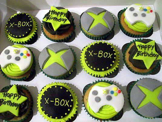Xbox Cupcakes Melanie Pinterest Cupcake And Xbox