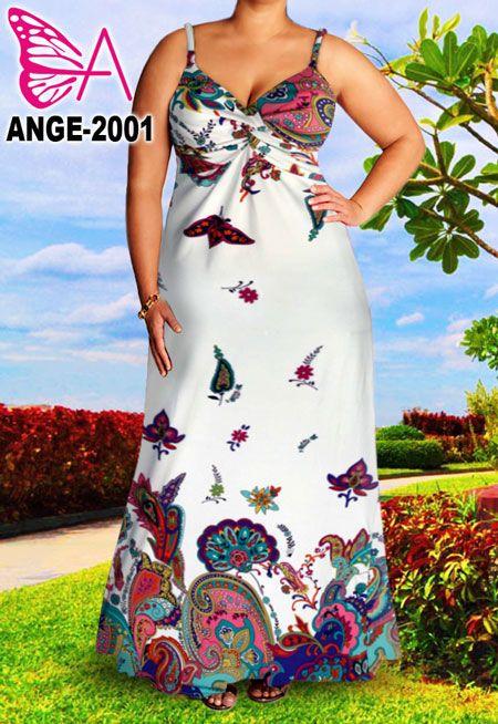 Angela-Neu-PLUS-SIZE-Vollschlank-Frauen-Lange-Maxi-Kleid-Farbe-XXL-9XL-48-66-DE