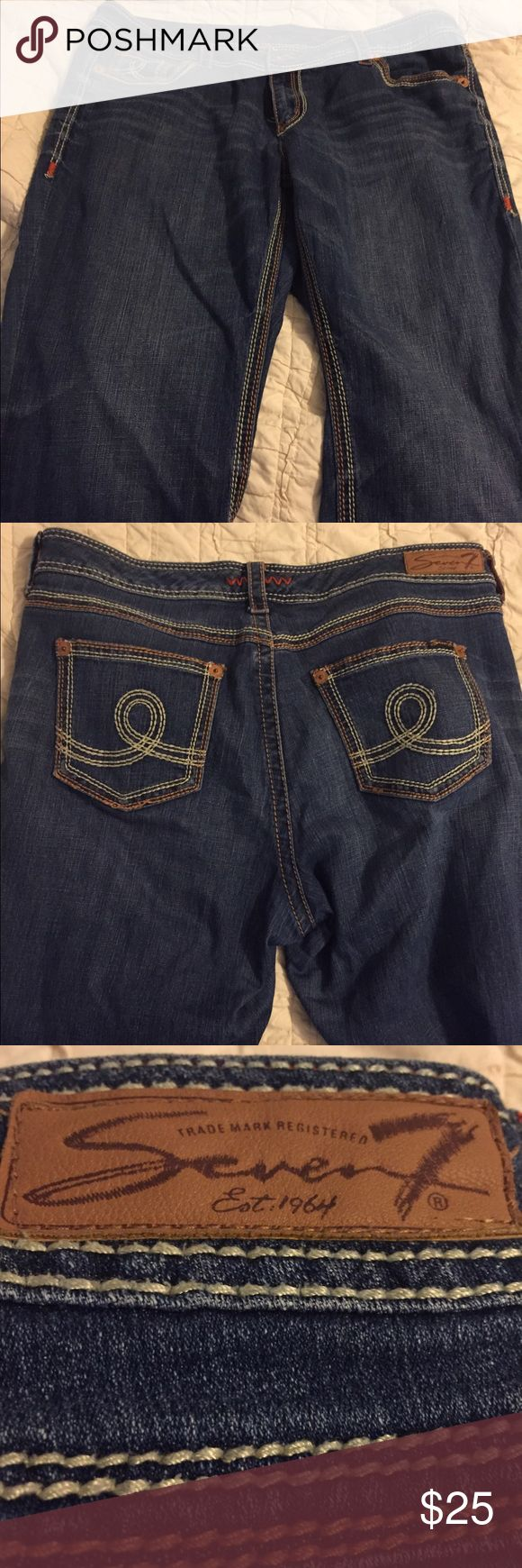 Seven7 women's petite jeans size 20 Size 20 petite in great used condition Seven7 Jeans Boot Cut
