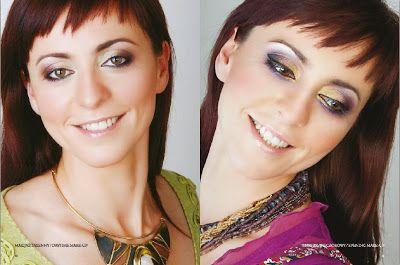 Metamorfoza Agnieszki - makijaż dzienny i wieczorowy