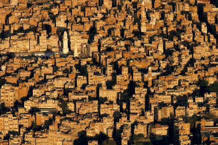© 2011 - Yann Arthus Bertrand  •    Old town of Sanaa., Yemen.