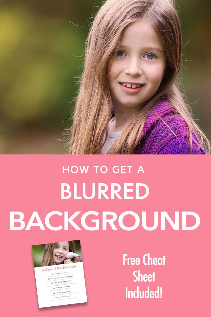 Beginner Photography Tutorial | How to Get a Blurred Background | Blur | Aperture | Cheat Sheet