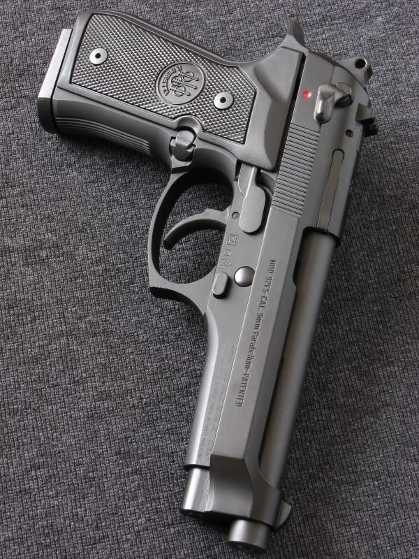 Beretta 92fs - I've owned several, one of my favorites.