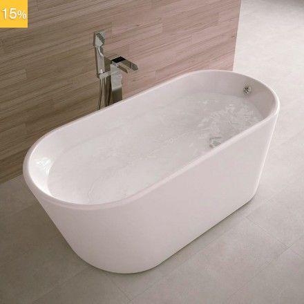 id ale pour les petites salles de bain cette baignoire en lot lanai vous procurera un confort. Black Bedroom Furniture Sets. Home Design Ideas