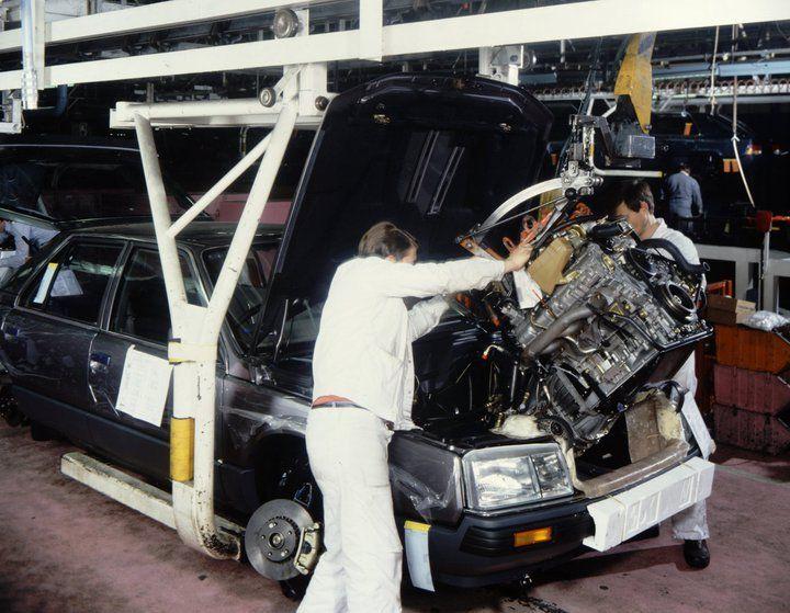 Renault 25 assembly line - Renault Türkiye - www.facebook.com/renaultturkiye