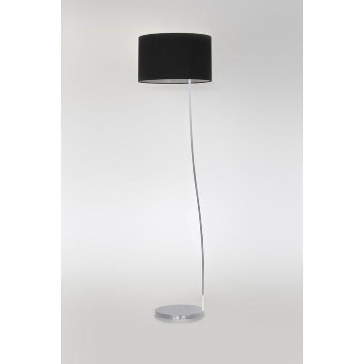 Astro 4534 sofia floor lamp matt nickel with shade