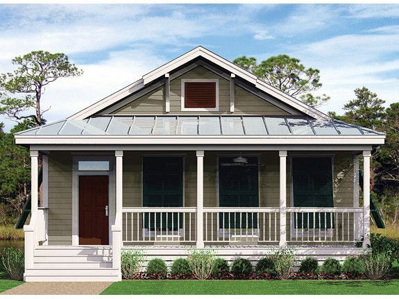 Low country elevation wilmington by palm harbor homes for Custom country house plans