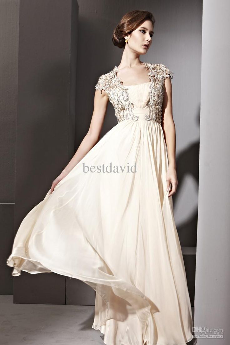 64 best bridesmaid dresses with sleeves images on pinterest cream cap sleeve backless evening dress tube neck chiffon beaded applique jacket floor length 81082 ombrellifo Image collections