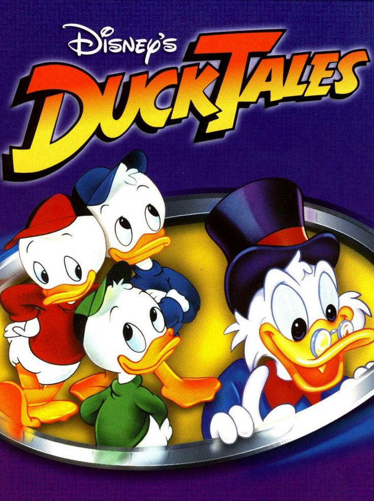 Duck Tales, woo-ooo - have some of my original VHS's still adn have been collecting on DVD now. :)