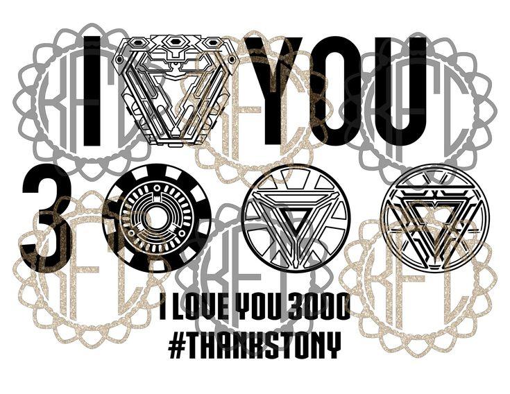 Download Tony Stark I love you 3000 arc reactor + proof that tony ...