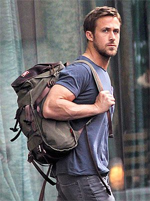 Another day, another gun show! Ryan Gosling shows off his buff body while heading to the set of Only God Forgives Wednesday in Bangkok, Thailand.