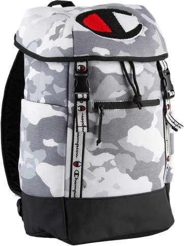 cf73ea9e3f Champion Prime Camo Backpack - Medium Grey Camo