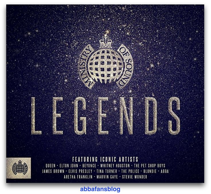 """New Ministry Of Sound compilation """"Legends"""" released in the UK this week which includes Abba's classic single """"Knowing Me, Knowing You"""" #Abba http://abbafansblog.blogspot.co.uk/2017/11/compilation.html"""