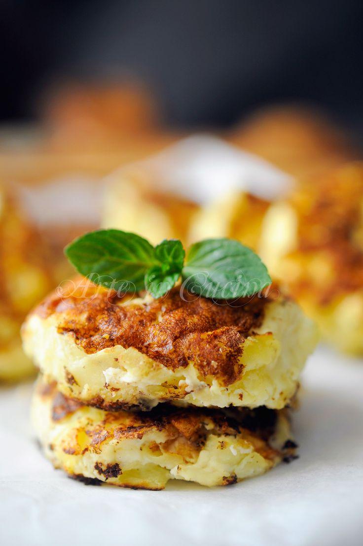 Frittelle con patate e ricotta facili e veloci vickyart arte in cucina