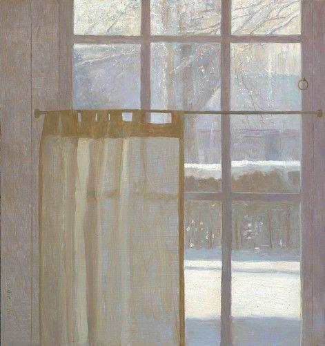 Jan van der Kooi (b.1957) - Winter. 2010. Oil on panel.