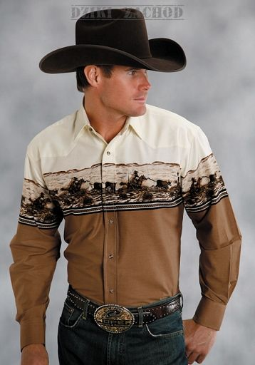 koszula kowbojska ROPING CALVES