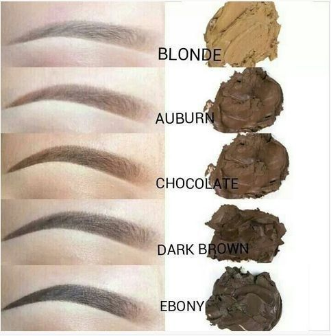 Anastasia Beverly Hills dip brow pomade colours