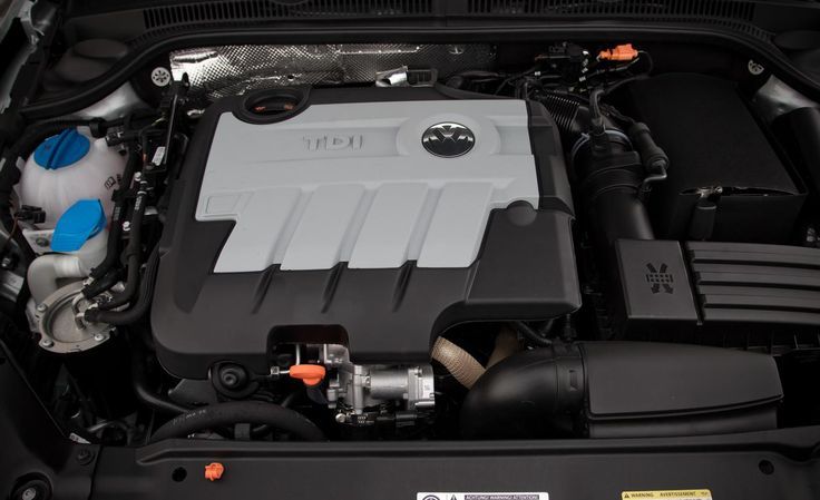 2013 Jetta TDI (Turbo Direct Injection) Diesel  Engine. 140 bhp 236 ft. lbs of torque.  Gonna be my next car.