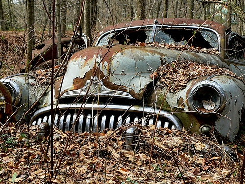 Beautiful in its rust. #RustinPeace #Classic #Nature