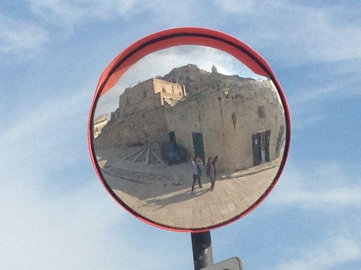 Mirror again at Matera,Italy